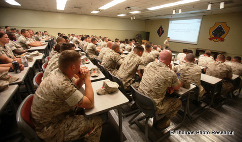 """Don't Ask, Don't Tell"" repeal training at Camp Pendleton"