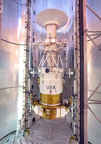 Magellan Spacecraft Preparation