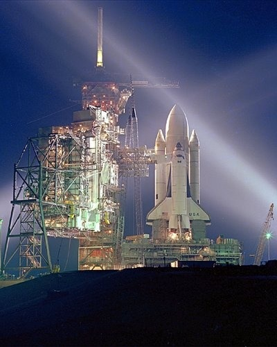 Sts 1 Pre Launch (columbia\'s First Flight)