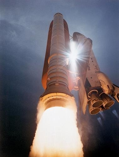 STS-43 Launch (Space Shuttle Atlantis)