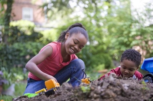 African American Children Playing Stock Images, Royalty ...