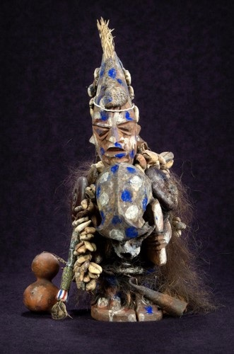 Shapona, the West African God of Smallpox