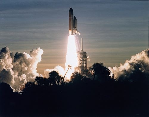 STS-60 Launch - Discovery