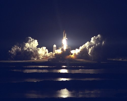 STS-86 Launch - Atlantis Take Off