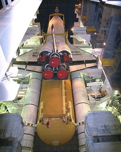 STS-70 Mating (Discovery)