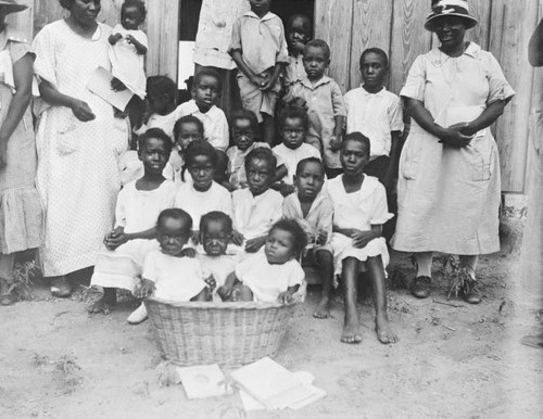 Black Children in 1920s Texas