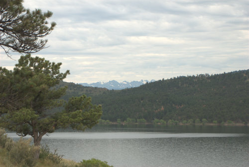 Carter Lake near Berthoud, Colorado