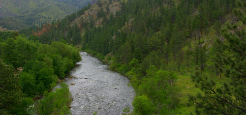 Poudre River Near Ft. Collins, Colorado