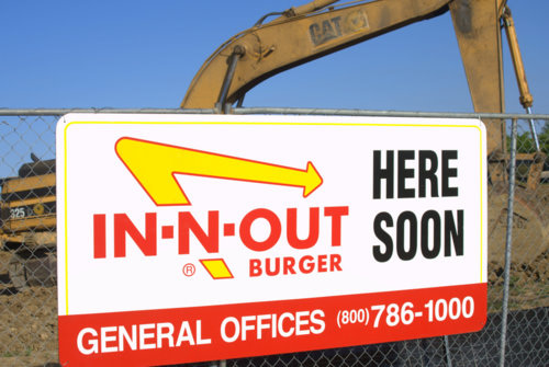 IN-N-OUT Burger Coming Soon