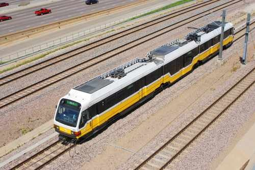 Dallas Area Rapid Transit Light Rail Train