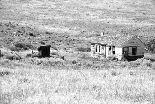 Abandoned Old Wyoming Homestead