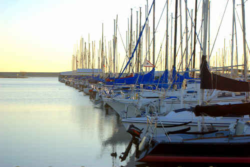 Sailboats without Sails Photo