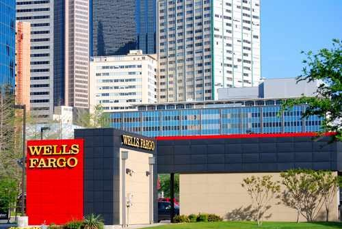 Wells Fargo Bank in Dallas, TX (horizontal)