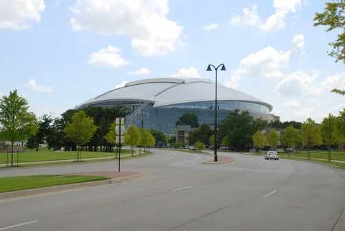 Cowboy Stadium in Arlington (new home of Dallas Cowboys)