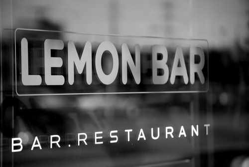 Lemon Bar in Uptown Dallas