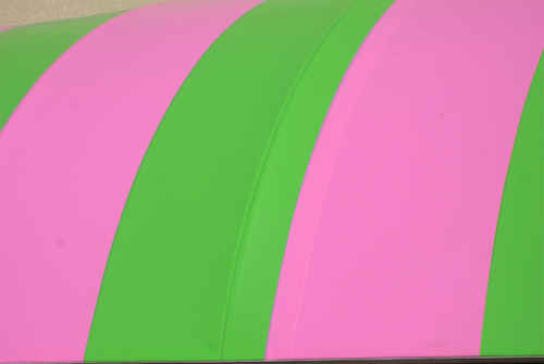 Pink and Green Lines