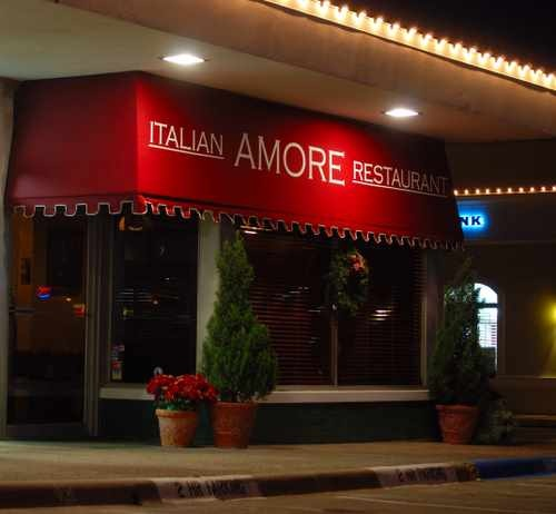 Amore Italian Restaurant in University Park, TX