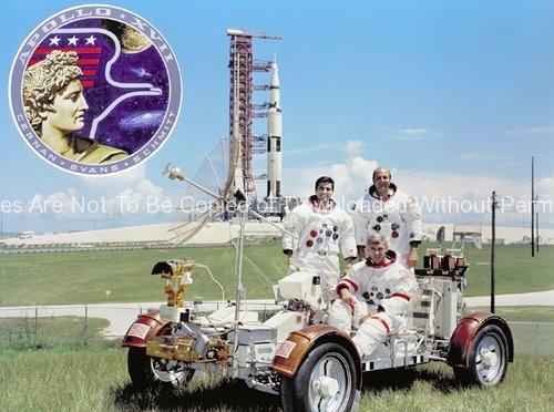 Apollo 17 Photo – Apollo 17 Prime Crew GPN-2000-001151
