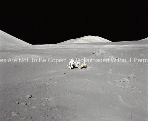 Apollo 17 Photo – Lunar Panorama GPN-2000-001149