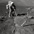 Apollo 17 Photo – Moon Walk GPN-2000-001124