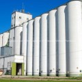 Large Grain Elevator in Kansas