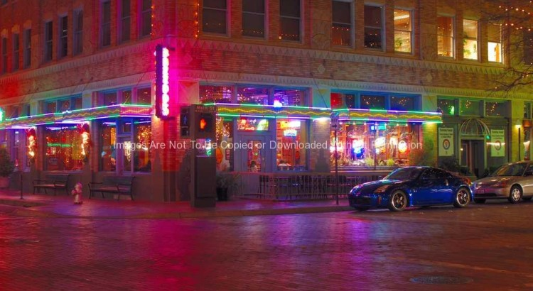 Restaurant in downtown Ft. Worth, TX