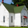 One room schoolhouse in Illinois