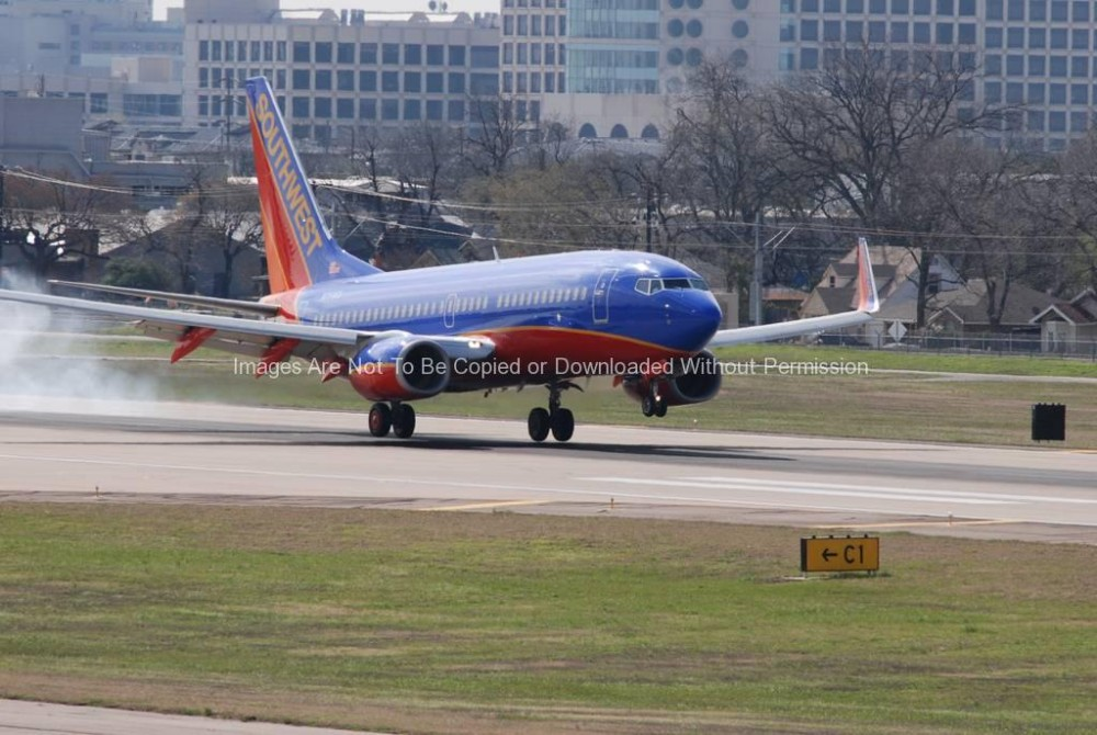 Airplane Stock Photo - Southwest Airlines
