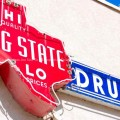 Big State Drugs Sign Irving, TX