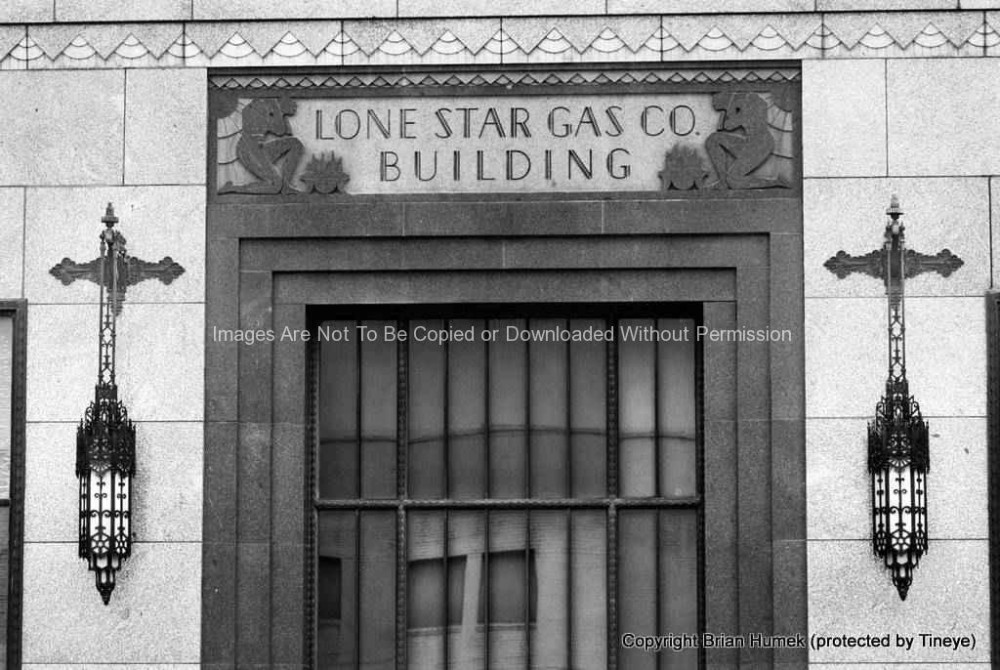 Lone Star Gas Building Entrance