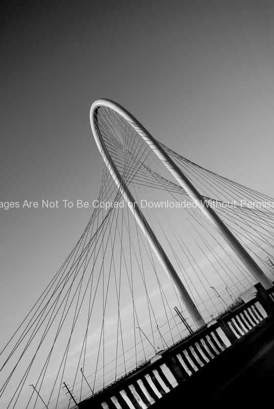Margaret Hunt Hill Bridge in Dallas, Texas